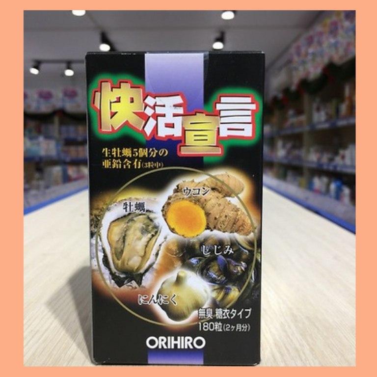 Tinh chất hàu tươi, tỏi, nghệ Orihiro Nhật Bản