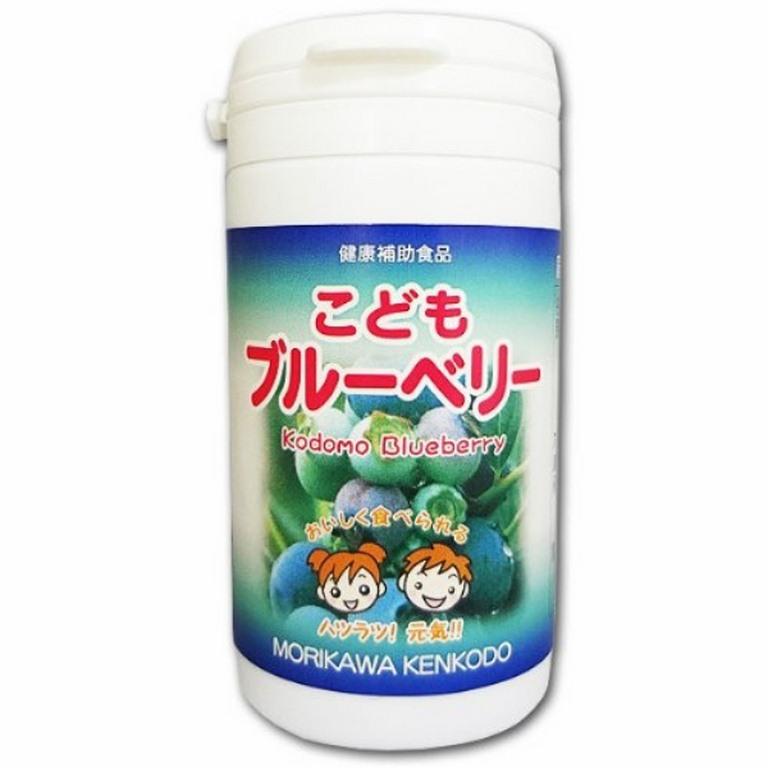 Viên uống bổ mắt chiết xuất việt quất Morikawa Kenkodo của Nhật Bản