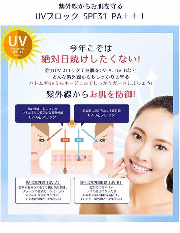 Hatomugi UV Milky Gel2