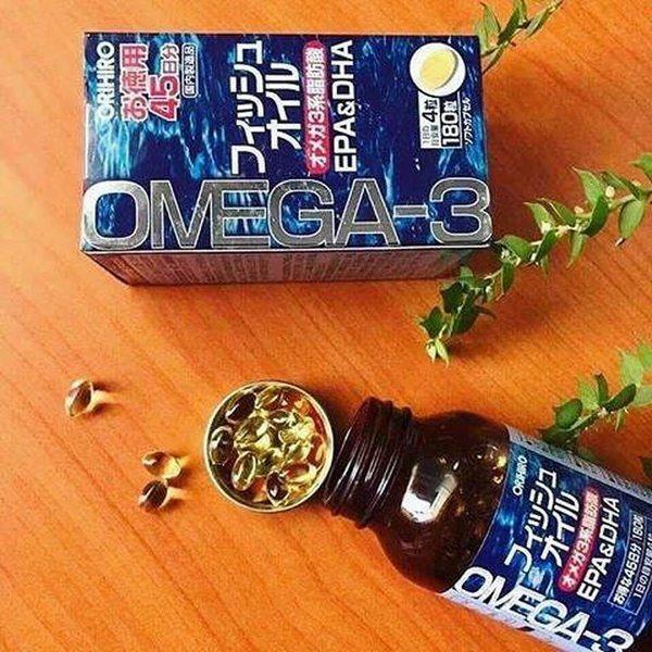 viên dầu cá orihiro