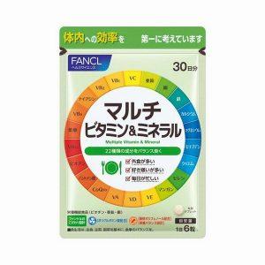マルチビタミン&ミネラル 商品詳細