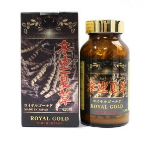 Viên uống đông trùng hạ thảo Royal Gold Nhật Bản