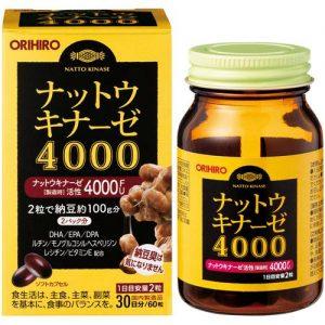 Chống đột quỵ Orihiro 4000FU nattokinase
