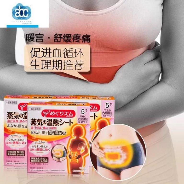 miếng dán giảm đau bụng kinh kao nhật bản