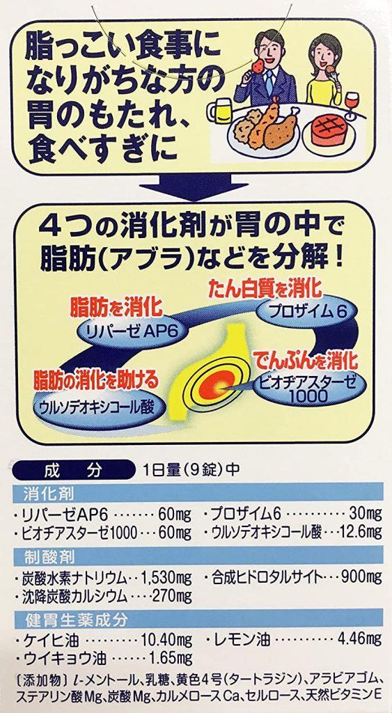 thuốc trào ngược dạ dày Inomotare Nhật Bản1