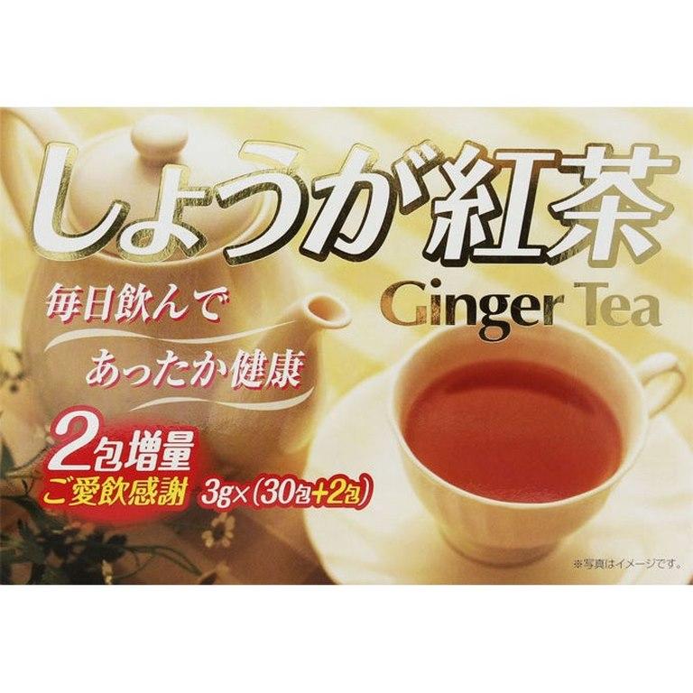 trà gừng đường đỏ