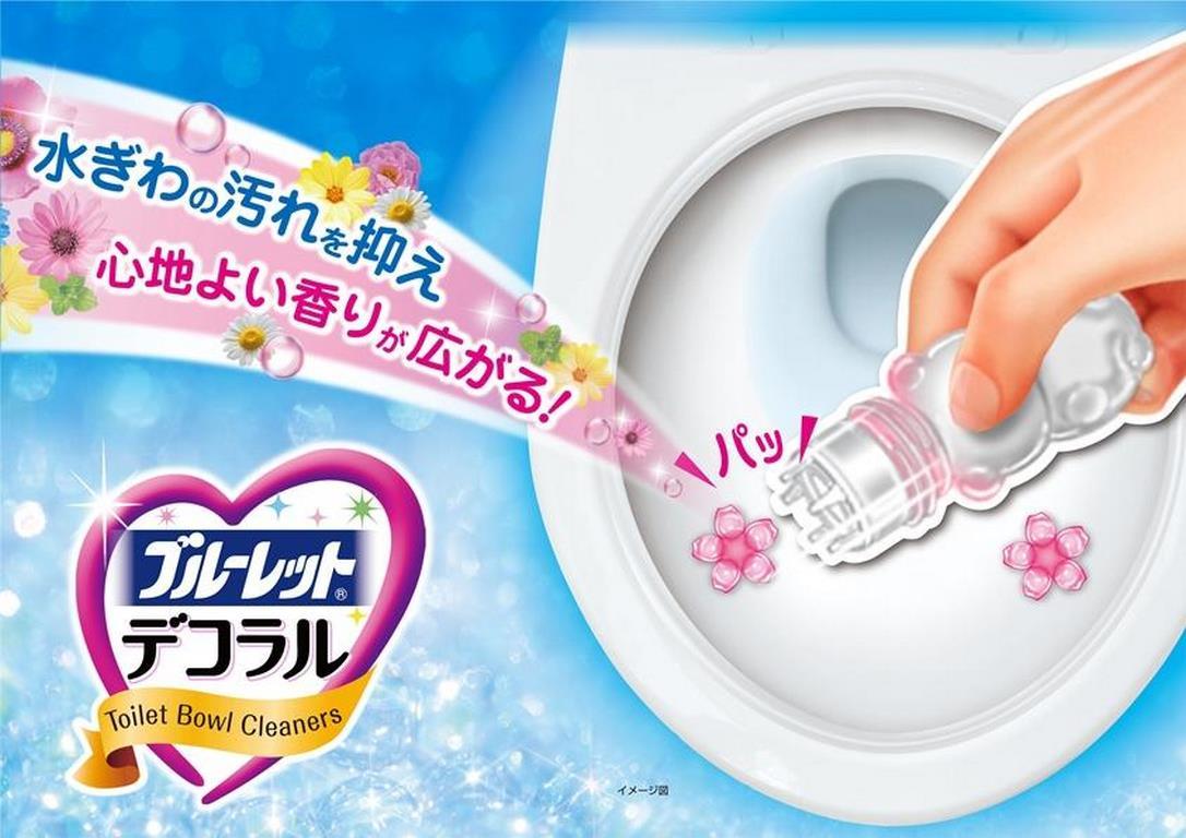 Gel khử mùi, diệt khuẩn bồn cầu Kobayashi Bluelet