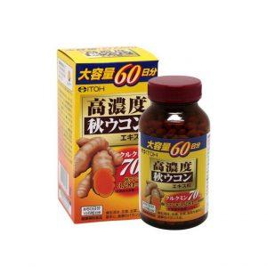 Viên uống nghệ thu cô đặc ITOH của Nhật