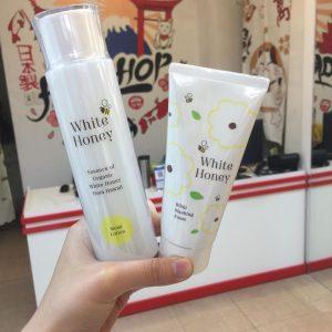 Sữa rửa mặt White Honey Nhật Bản.1