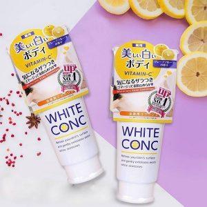 Tẩy tế bào chết White ConC Nhật Bản 180gr
