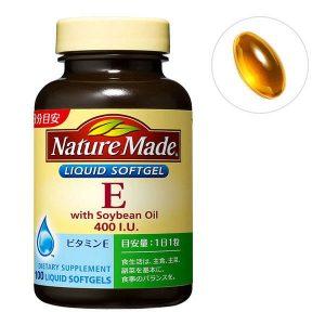 Viên uống bổ sung vitamin E Natura Made