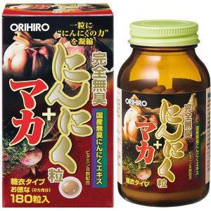 Viên uống tỏi maka tăng cường sức khỏe Orihiro pg
