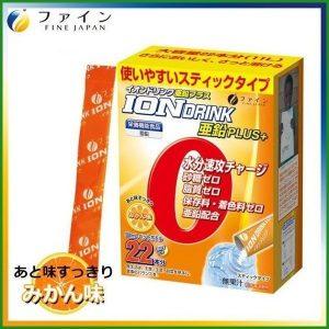 bột ion bù nước bù khoáng Fine Japan