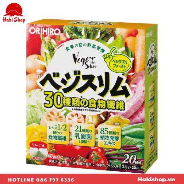 Bột Nước ép rau củ Veggie Slim Orihiro
