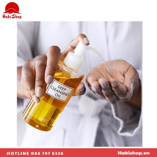 Dầu tẩy trang Deep Cleansing Oil dhc (3)