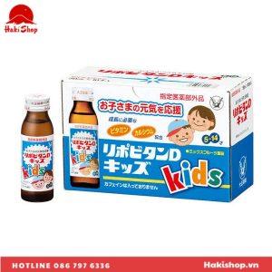 Nước uống bổ sung Vitamin và Canxi Taisho Lipovitan D Kids (5)