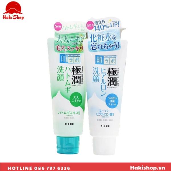Sữa rửa mặt Hada Labo Gokujyun Face Wash (3)