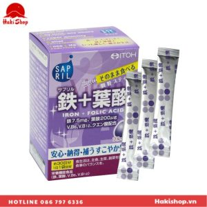 Bột bổ sung Sắt - Axit Folic ITOH (4)