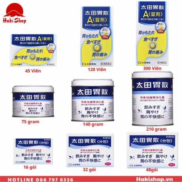 thuốc dạ dày Oh'ta Nhật Bản các loại (1)