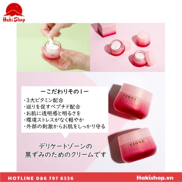 Kem dưỡng trị thâm vùng kín VIONEE Peculia Nhật Bản (6)