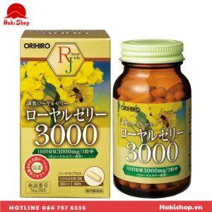 Vien uong sua ong chua Orihiro Royal Jelly