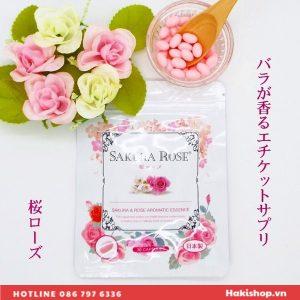 vien uong toa huong sakura rose