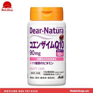 vien uong dep da Coenzyme Q10 Dear natura