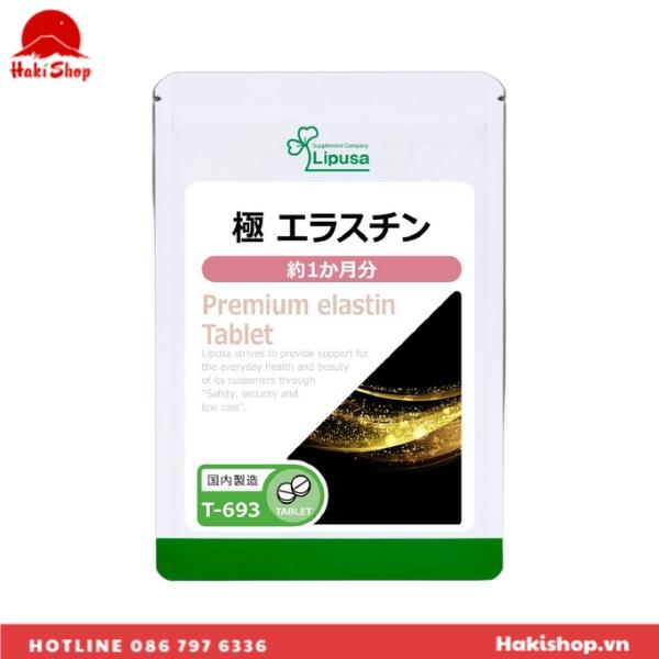 vien uong bo sung elastin cao cap Lipusa Nhat Ban (8)